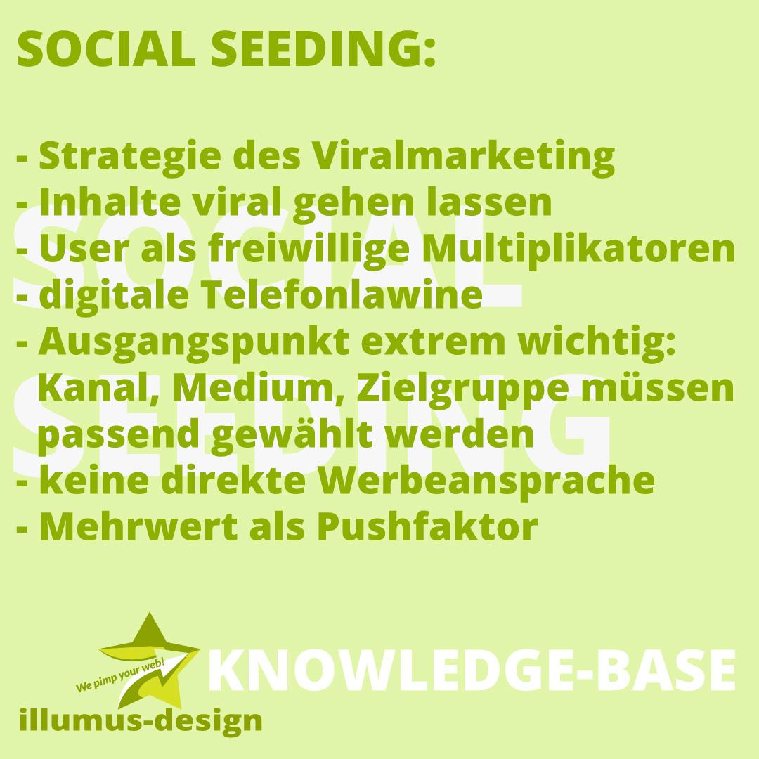 Definition Social Seeding - illumus-design Knowledge-Base